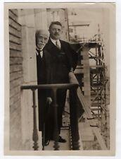 PHOTO 1932 Voyage de Édouard Herriot Espagne Madrid Politique Maison Vélasquez