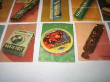 Pik pak Vache qui rit Martini Zig Zag Tigra cigarettes Spa De Beukelaer Novak