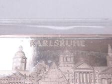 Heraeus Silberbarren Feinsilber 999 Silber Barren Karlsruhe 1 OZ Unze silver