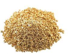 1/2 Gram 24K Gold Casting Grain pure .9999 Fine GRADE Gold Shot Bullion