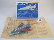 Siku Plastik 1/250 Siku Flugzeug F30 Lightning F1 Royal Air Force Nr.2 OVP #553