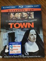The Town (Blu-ray/DVD, 2010, 2-Disc Set, Extended/Theatrical)