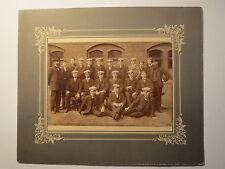 2 Lehrer & Gruppe Schüler einer Unterprima - 1907/08 - Fritz Hackenberg UI / KAB