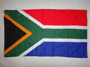 Afrique Du Sud Pays Chiffon Imprimé Drapeau Neuf non Utilisé