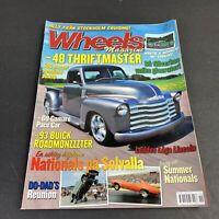 Wheels Swedish Magazine #11 2014   '69 Camaro Pace Car   '93 Buick Roadmaster