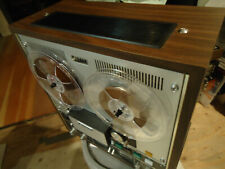 Sony Tc-651 Vintage Reel to Reel Deck near Mint condition With Dustcover Look!