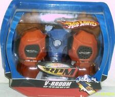 NEW HOT WHEELS TOY PLAYSET V-RROOM RPM RACE PERFORMANCE SOUND GLOVE PLAYSET