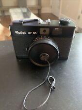 Rollei XF 35 Rangefinder 35mm Film Camera, Sonnar 40mm f2.3 Lens new Battery