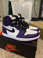 Air Jordan 1 Retro High OG Court Purple Size 11.5 BRAND NEW