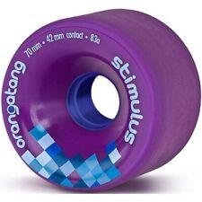 Longboard Wheels. Orangatang Stimulus Freeride Longboard Wheels - Purple 70mm