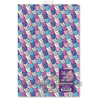 Crazy Cat Lady Wrapping Paper Wrap Party Gift Present Décor Sheet Sheets Quality