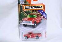 Matchbox '62 NISSAN Junior SRIRACHA Sauce Delivery Truck Red 1:64 Scale N.I.P.