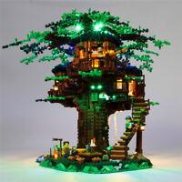 LED Light Lighting Kit ONLY For LEGO 21318 Ideas Treehouse Buildings Block