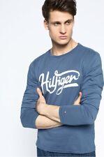 Tommy Hilfiger Men's Flag Gingham Long Sleeve Pyjama Top Medium Brand New