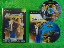 xbox SHENMUE Series 2 II + Bonus DVD Featured MOVIE Microsoft PAL