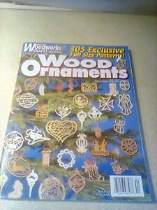 Creative Woodworks & Crafts Magazine 305 Wood Christmas Ornaments, Winter 2004