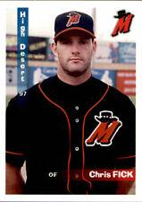 1997 High Desert Mavericks Grandstand 7 Chris Fick Thousand Oaks California Card