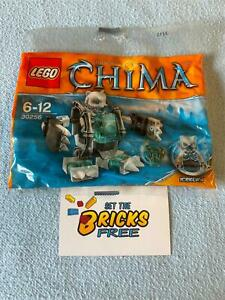 Lego Chima 30256 Ice Bear Mech Polybag New/Sealed/Retired/Hard to Find