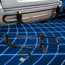 Black Coated Double Pipe Bar Rear Bumper Guard for 2009-2015 Honda Pilot SUV
