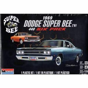 Monogram 1/24 1969 Dodge Super Bee 2'N1 Kit (New)