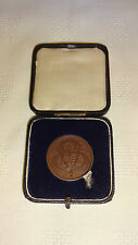 Cased 1932 Midland Counties Amateur Athletics Bronze Medal - The Javelin