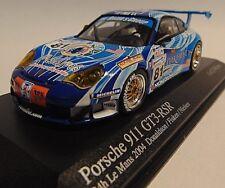 PORSCHE 911 gt3 RSR * Le Mans 2004 Donaldson sporet Nielsen * 1:43 Minichamps