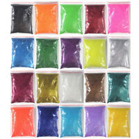 100g Iridescent Glitter Dust Powder For Nail Art & Make Up UV Acrylic Crafts New