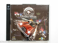 CRIME CITIES PC CD-ROM EON DIGITAL (2000) WIN95/98 BIGBOX JEWEL CASE