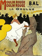 THEATRE CABARET MOULIN ROUGE LA GOULUE WEBER CAN PARIS FRANCE POSTER 2100PYLV