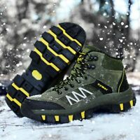 Men Winter Shoes Snow Boots Outdoor Hiking shoes Keep Warm Casual High Top Boots