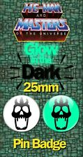 Glow In The Dark Warrior Ring Insigne 25 mm He-man Masters of the Universe MOTU