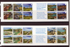 GUERNSEY 2014 LOVE THE BAILIWICK PAIR OF BOOKLETS UNMOUNTED MINT, MNH