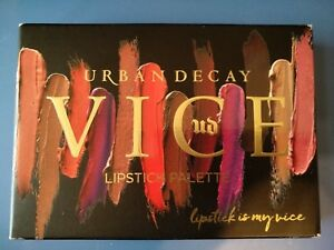 Urban Decay Blackmail Vice Lipstick Palette, NEW IN BOX, 100% Authentic.