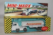 1960's Marx Toys Diecast North Point Oil Co Semi Truck, Boxed, Nice Original