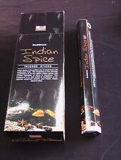 DARSHAN INCENSE STICKS 6 HEXAGONALS BOXES = 120 STICKS INDIAN SPICE SCENT
