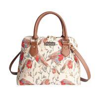 Signare Womens Tapestry Fashion Shoulder Convertable bag Robin