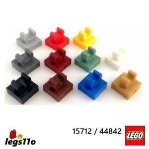 LEGO 15712 / 44842 NEW - Plate 1x1 with Up Right Clip (Pack of 1, 2, 4 or 8)