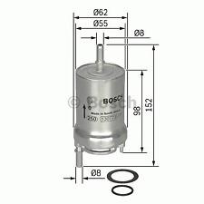 Kraftstofffilter - Bosch 0 450 905 925