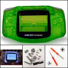 Nintendo Game Boy Advance GBA Front Light Frontlight AGS-001 Full Mod Kit Green