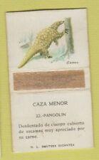 Matchbox - Animals Spain Caza Menor Pangolin Worn Back
