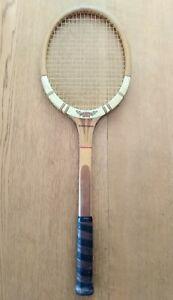 Dunlop Maxply International Vintage 1960s Wooden Tennis Racquet