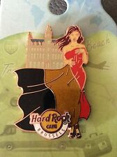 Brussels Hard Rock cafe pin landmark flag girl serie 2016