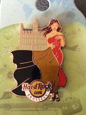 Brussels Hard Rock cafe pin landmark flag girl serie 2016