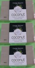 Coconut Milk Olive Oil Soap 3 Bars X 250gr 750gr Greek