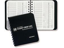 POCKET FLIGHT CREW LOG BOOK | ASA-SP-FC |  For Pro Pilots, F/A & Instructors