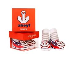 Socks - Trumpette - Ahoy Rattle Red Baby Accessories 0-12 Mos
