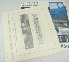 Schaubek Indonesia Hingeless Stamp Album Pages 2001 Brillant HINA2001 New