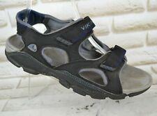 VIKING KALAMARI Mens Black Sport Sandals Walking Shoes Summer Size 9 UK 43 EU