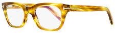 Tom Ford Blue Block Eyeglasses TF5536B 045 Striped Brown/Opal 51mm FT5536