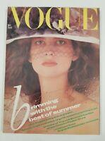Vogue Magazine May 1985 Vintage Vogue Magazine